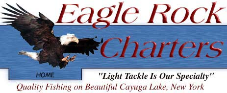 Eagle rock charters fishing on cayuga lake eagle rock for New york fishing trips